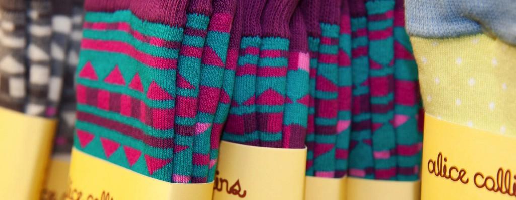 Women's socks category header