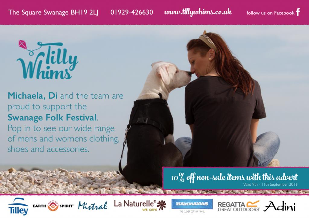 Swanage Folk Festival Advert