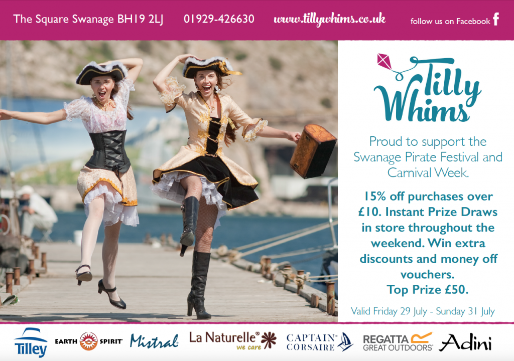 Swanage Pirate Festival and Carnival week