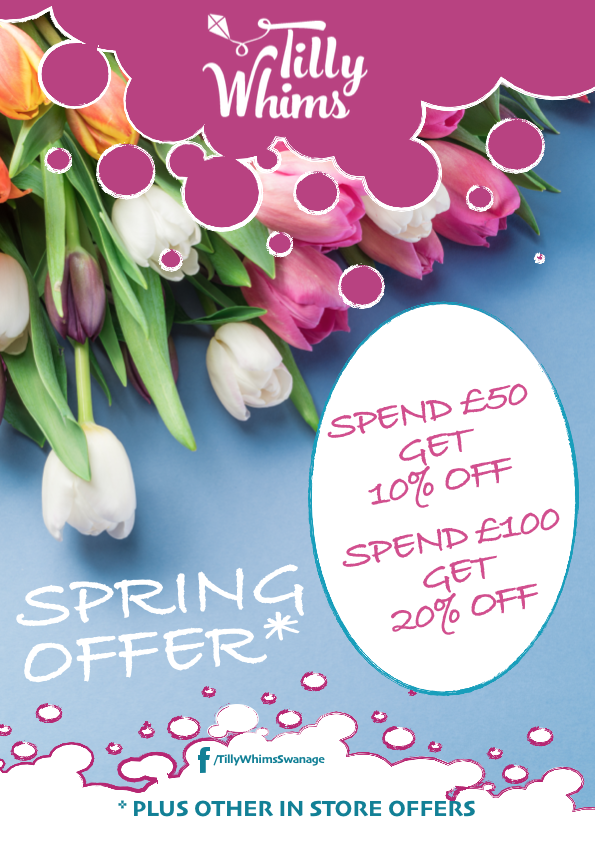 Spring In Store Offer